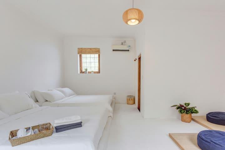 """""""White~白"""" 一天自然~稻香湖畔日式独立小院、情侣、团建"""