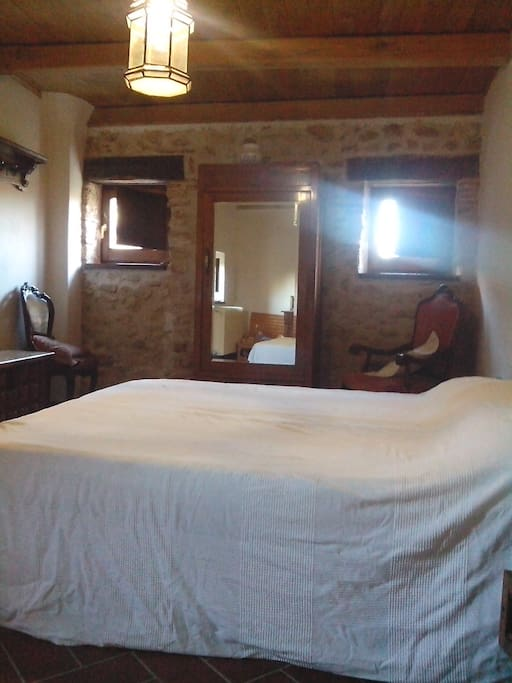 the bedroom at the ground floor