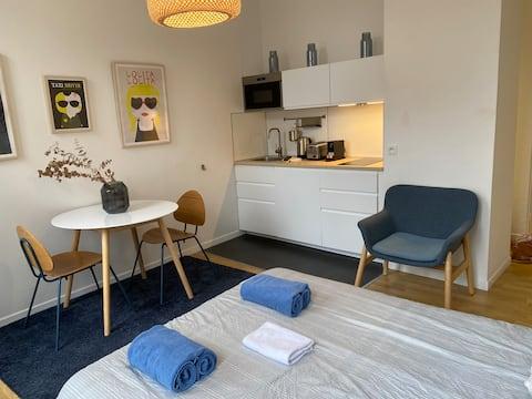 Studio 25 m2 midt i Grand Place BLÅ