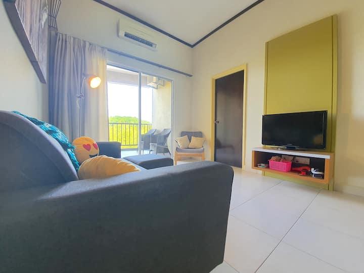 Gold Coast Morib Two-Bedroom Apartment [4 Pax] II