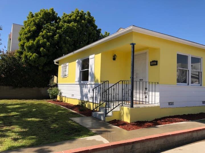 Yellow House in Santa Monica