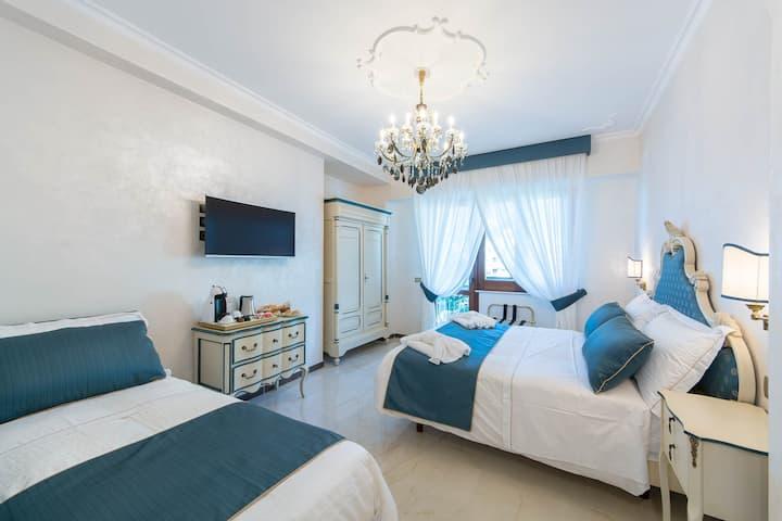 B&B Palazzo Montesanto - Blue Room with Sea View