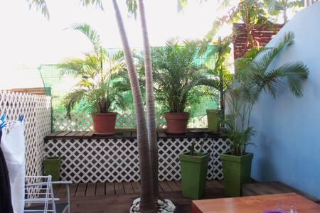 Grand studio terrasse à 2 pas embarcadère Pinel - Cul-de-Sac - Huoneisto
