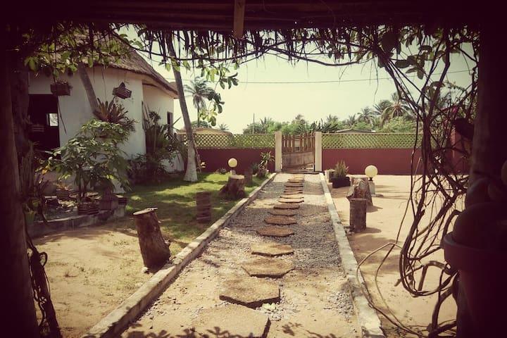 Séjour cosy dans une villa balnéaire à Jacqueville