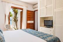 Sea View Master Bedroom with king size bed