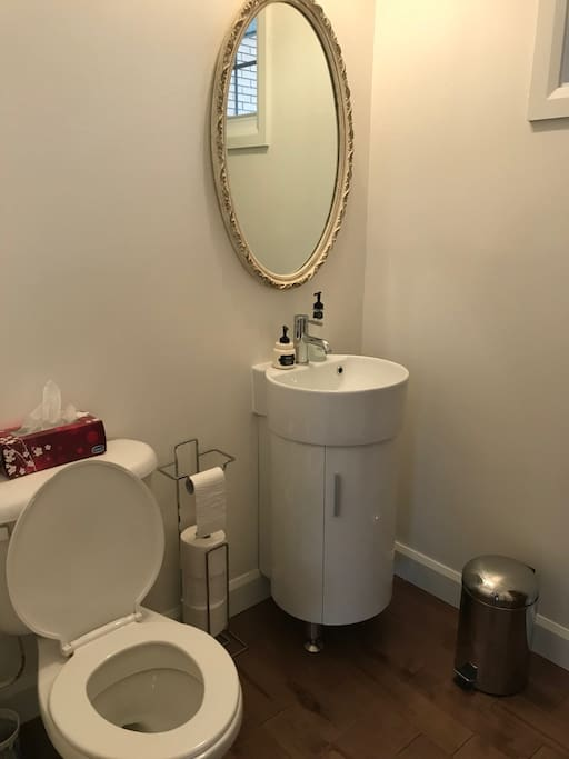 restroom in common areas