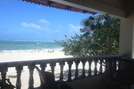 Beachfront two-bedroom apartment! - playa dorada