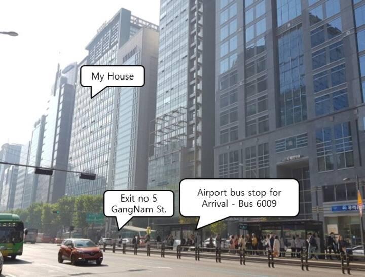 D02 JJ House-5sec.to Gangnam stn-*BIG&BEST VIEW*