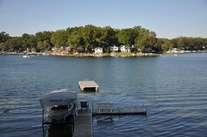 Hilltop Resort on Big Crooked Lake in Sister Lakes