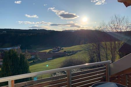 Moderne Ferienwohnung mit schönem Ausblick