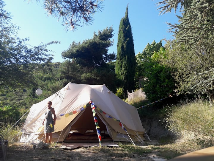 Oasis en Provence . Cosy Glamping A Nature Ventoux