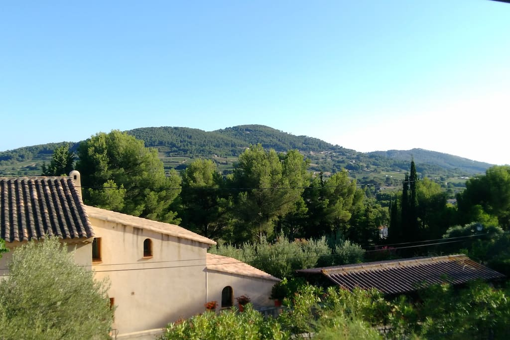 Vue des chambres / view from bedrooms