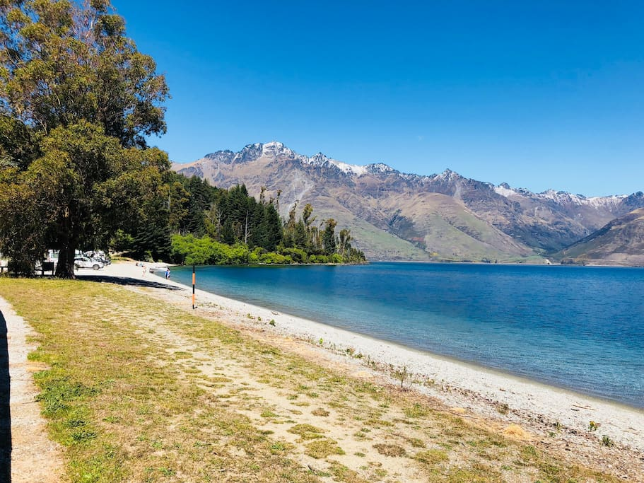 Wilson Bay beach, a beautiful spot for relaxing, swimming or water sports