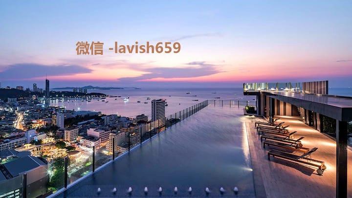 The Base Condo ❤️ luxury apartment ❤️Pattaya Beach