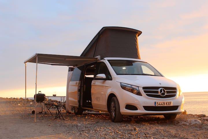 Camper Van ☀ Sleep & Chill ANYWHERE!