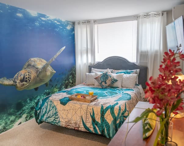 Private Room Next To The Beach!! - Moana Room