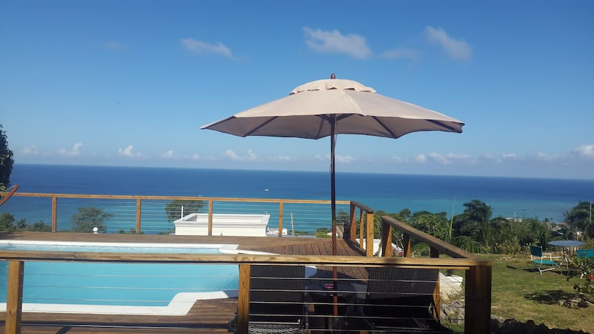 Ocean View 2 beds, 2 baths w/ rooftop pool - Montego Bay - Apartament