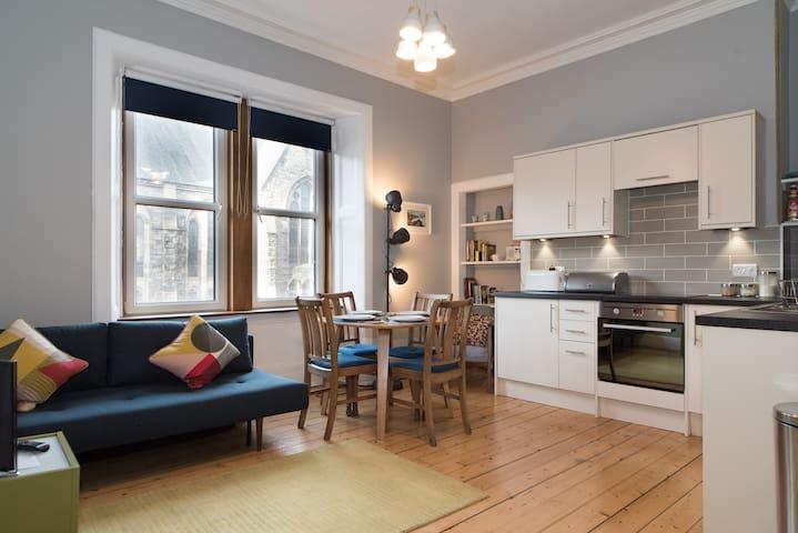 Splendid apartment in Edinburgh's vibrant East End