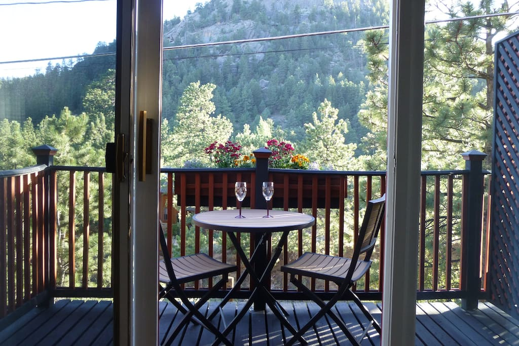 enjoy the view from the deck