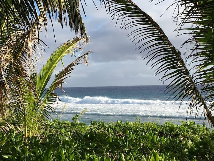 White surf , ocean views & a handy location.....