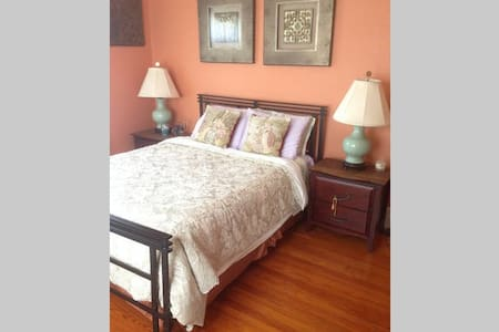 Double room in quiet pretty house near everything - House