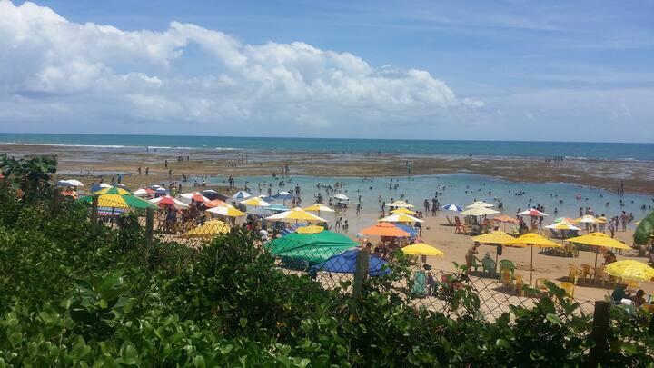Ap próximo à Praia de Guarajuba.