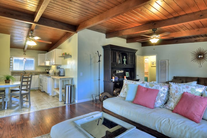 Two charming coastal condos, just one block to Carlsbad State Beach