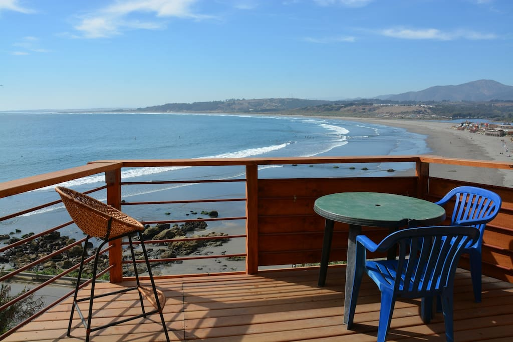 Deck of the Surf Shack