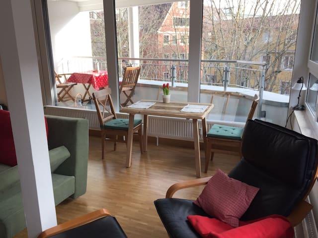 Mittendrin statt nur dabei und trotzdem ruhig! - Würzburg - Apartment
