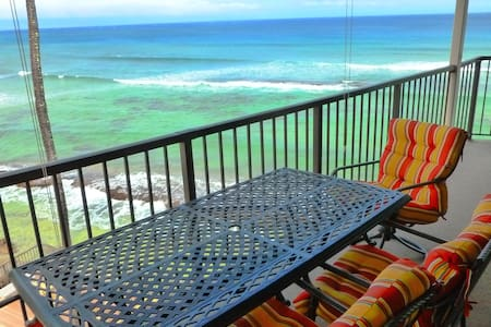 100% Oceanfront~Priceless Ocean Views~Hear Waves! - Lahaina - Departamento