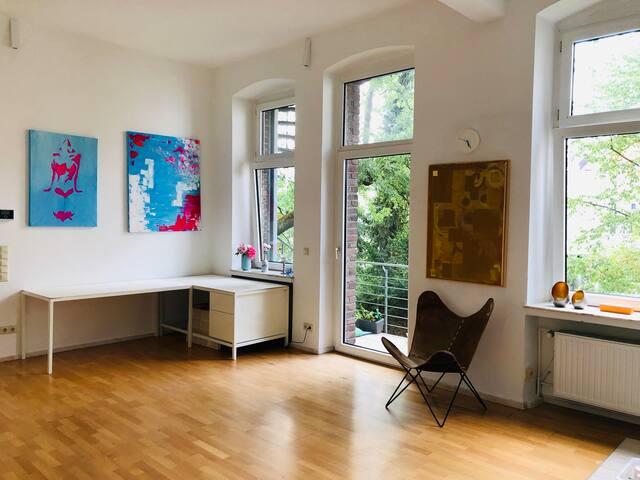Live like an artist - Studio/ Wohnung