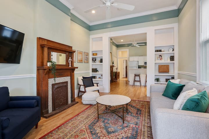 Beautiful 1-Bedroom  House, 3 Blocks from Canal St