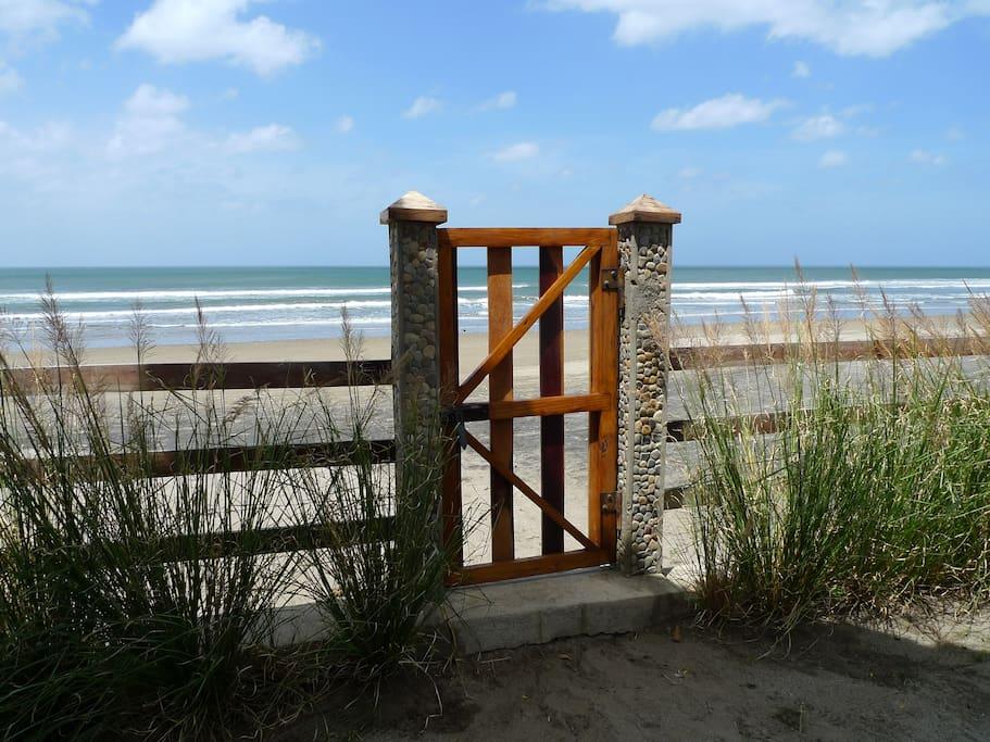 A walk on the beach?