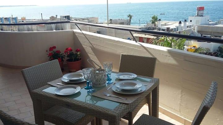 Luxury house on the sea