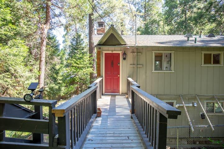 The Starlight Lodge, a quiet mountain retreat