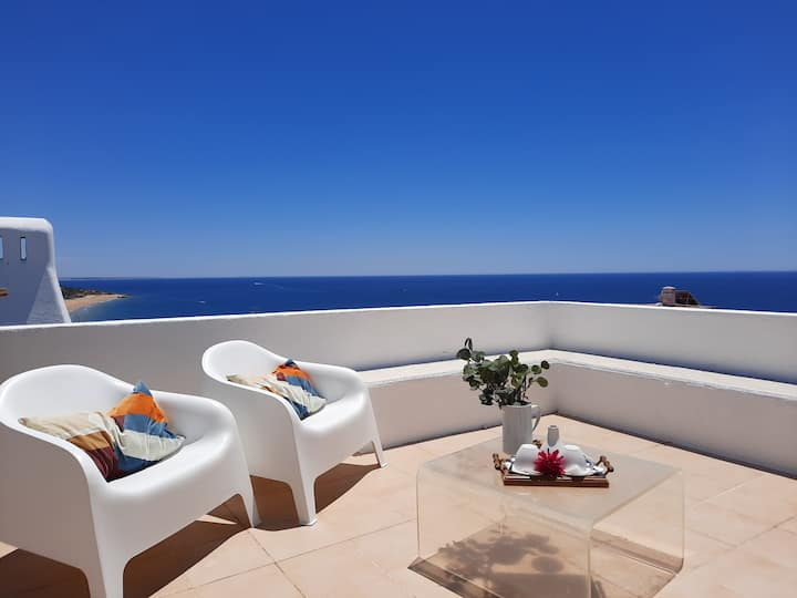 Magnifique penthouse avec vue sur l'océan