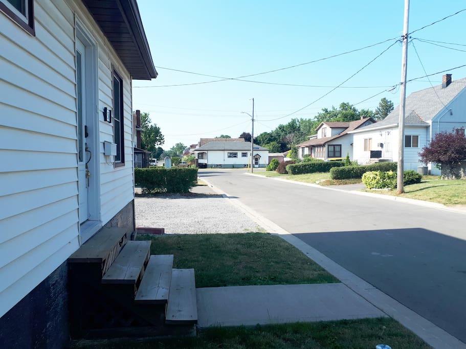 View southward (towards Bridge Street)