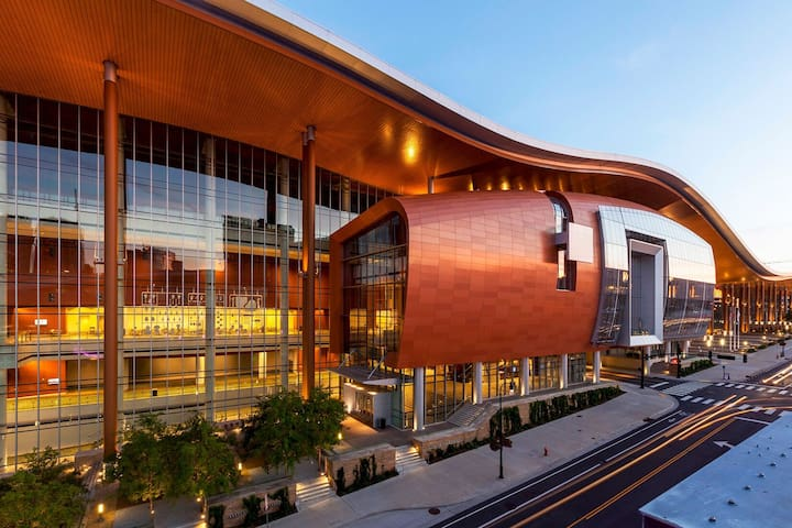The new Music City Center (Convention Center)! Just a few blocks away!