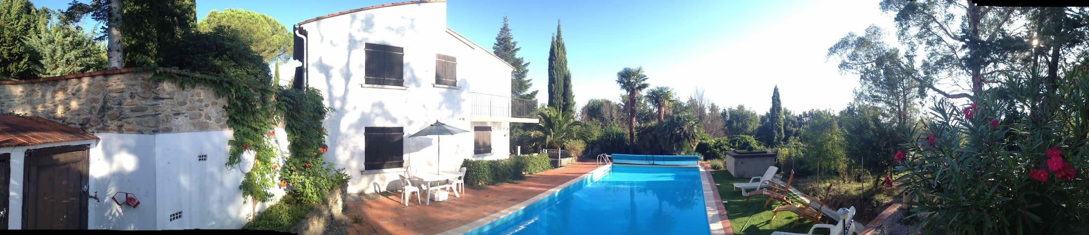 Mas Magrana - villa & pool near Ceret, Roussillon - Céret - Lägenhet