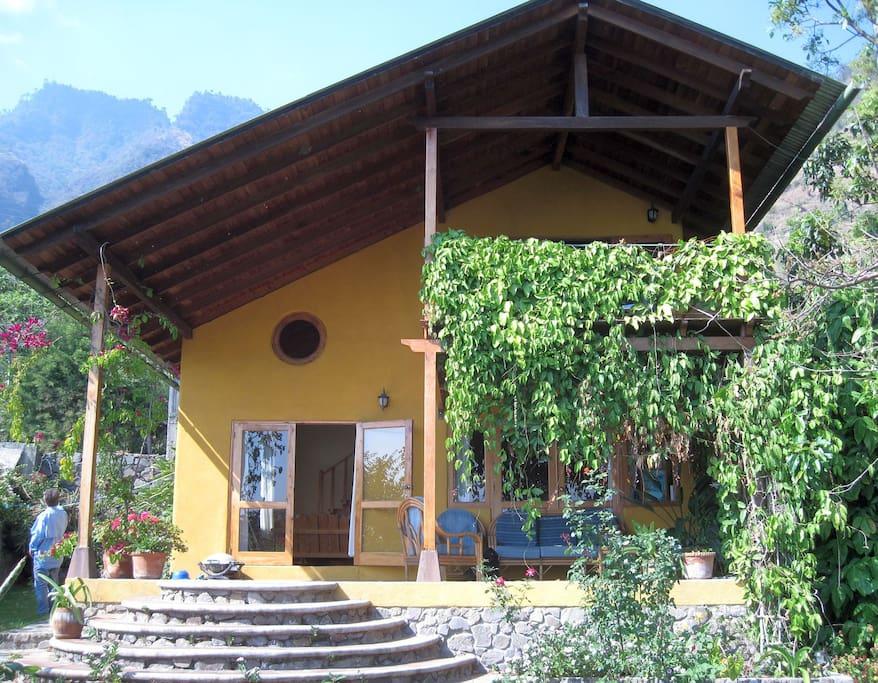 Front of Casa Grande