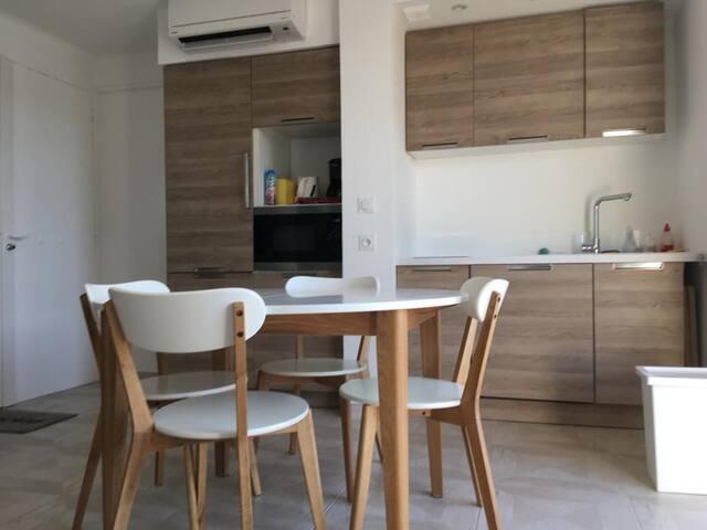 Appartement bord de Mer, idéal Famille