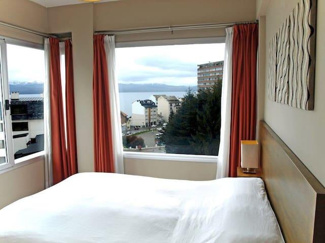 Apartamento céntrico con vista al lago