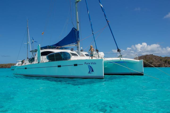 Catamarán Pura vida  Portobelo plan basico