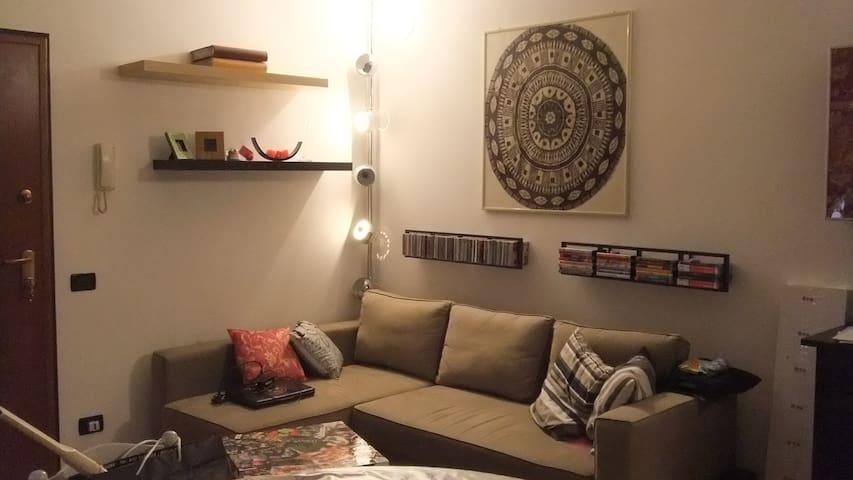 appartamento bilocale arredato - Orzivecchi - Leilighet