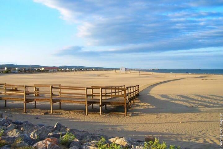 Coursan bel Appart 20min des plages et de Gruissan