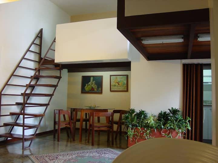 Apartamento equipado (78m2).