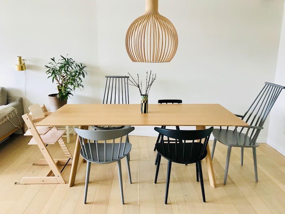 Experience a classic, minimalistic, Nordic decor