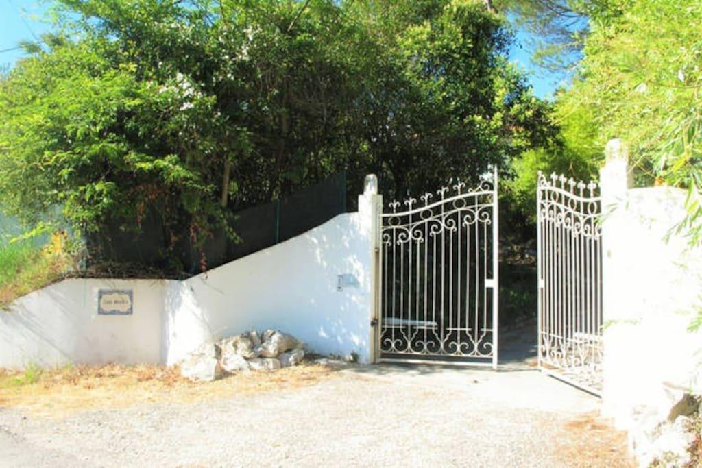 Casa Branca - Entrance