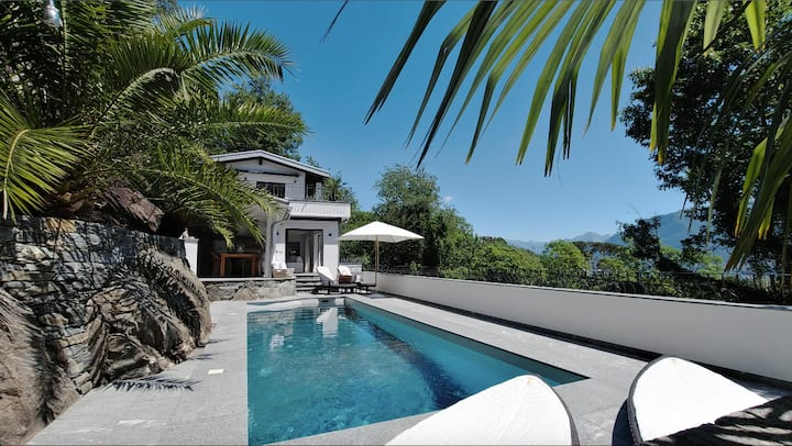 Villa Gruppaldo **Luxus Hide Away mit Pool & View*