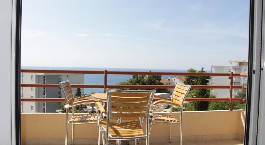 Amazing view from Sarajka apartment - Ulcinj
